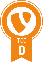 TYPO3 CMS Certified Developer (TCCD) Badge